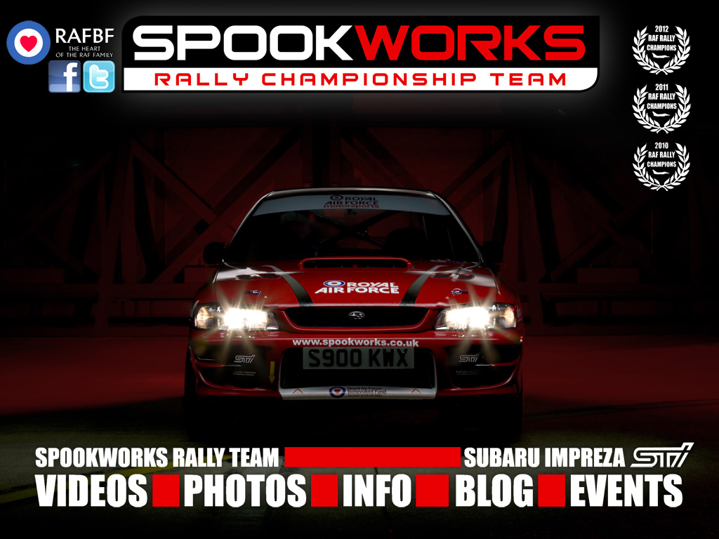Spookworks RAF Rally Team